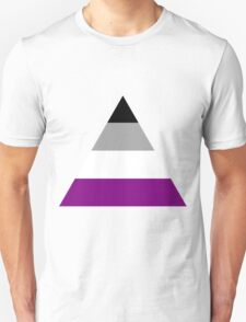 Asexual triangle flag T-Shirt