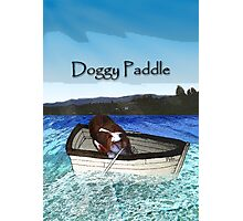 Doggy Paddle Photographic Print