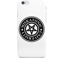 MISKATONIC UNIVERSITY iPhone Case/Skin
