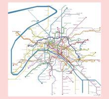 Paris Metro Kids Tee