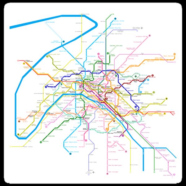 Paris Metro by Mary Grekos