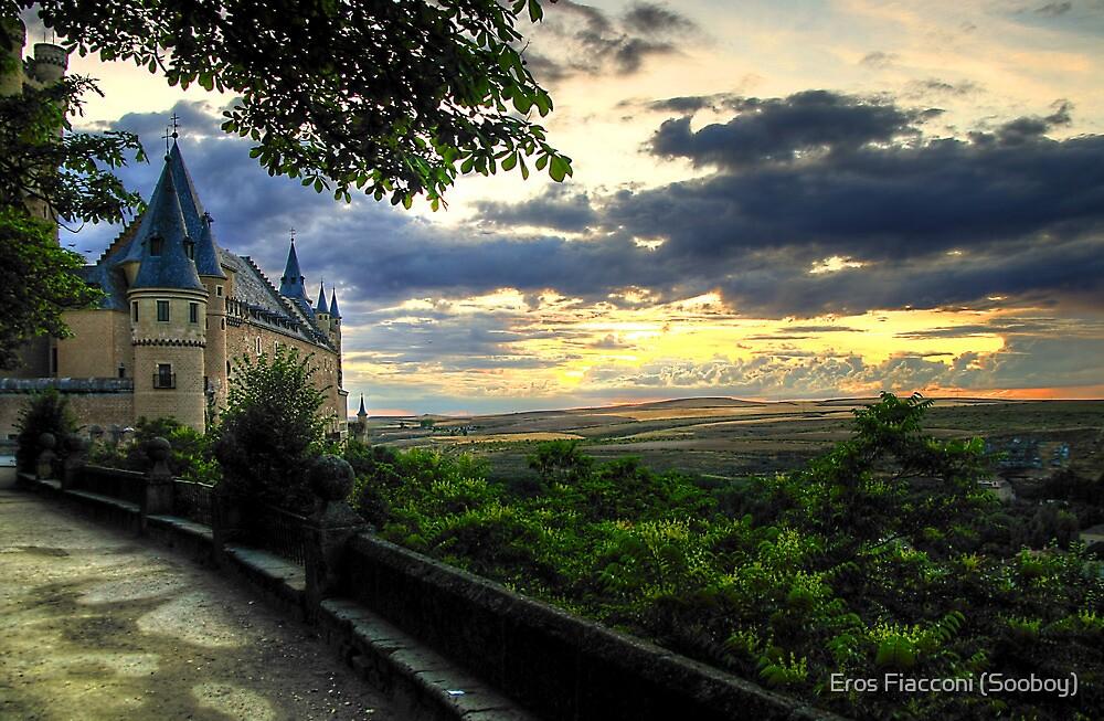 Alcazar sunset, Segovia Spain by Eros Fiacconi (Sooboy)