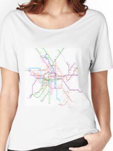 Berlin Metro Women's Relaxed Fit T-Shirt