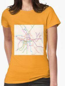 Berlin Metro Womens Fitted T-Shirt
