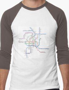 Vienna Metro Men's Baseball ¾ T-Shirt