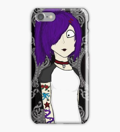 Punk girl iPhone Case/Skin