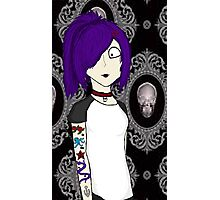 Punk girl Photographic Print
