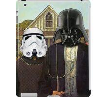 American Gothic Darth Vader & Stormtrooper iPad Case/Skin