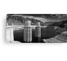 Hoover Dam & Lake Mead Canvas Print