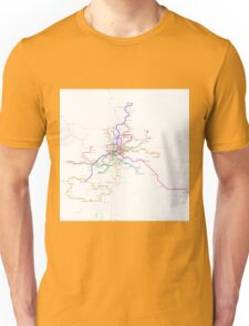 Madrid Metro Unisex T-Shirt