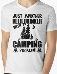 Just Another Beer Drinker With A Camping Problem Mens V-Neck T-Shirt