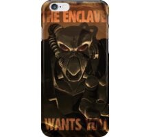 The Enclave Wants You iPhone Case/Skin