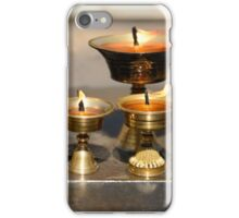 Yak Butter Lamps iPhone Case/Skin