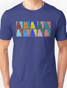 Pop art Daleks - variant 1 Unisex T-Shirt
