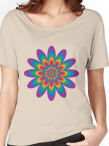 Infinite Flower Women's Relaxed Fit T-Shirt
