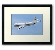 NASA Shuttle Carrier 911 Framed Print