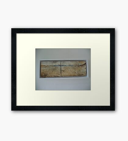 Capertee valley Plein Air painting  Framed Print