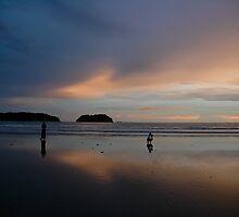 Pastel sunset, Samara Beach by Jesse Taylor