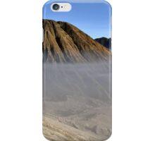Gunung Bromo valley in fog iPhone Case/Skin