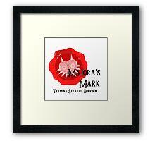 Majora's Mark Framed Print
