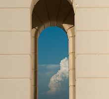 Portico, Cape Byron Lighthouse by Jesse Taylor