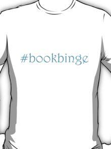 Bookbinge_blue T-Shirt