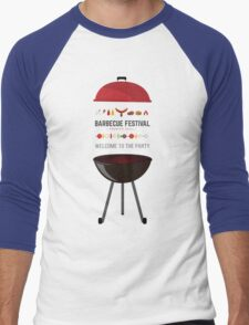 Barbecue Men's Baseball ¾ T-Shirt