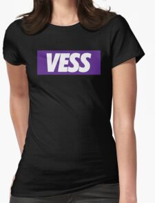 Black - Vess Womens Fitted T-Shirt