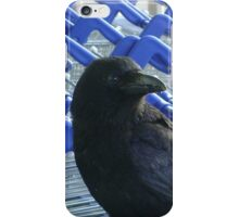 firm purchase (raven upon shopping trolleys) iPhone Case/Skin