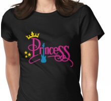 Rocking Princess Womens Fitted T-Shirt