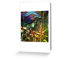 Topography I Greeting Card