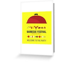 Barbecue festival Greeting Card