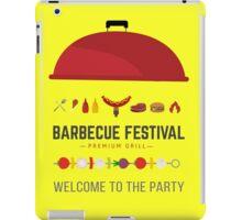 Barbecue festival iPad Case/Skin