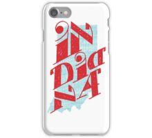 United Shapes of America - Indiana iPhone Case/Skin