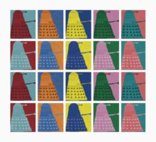 Pop art Daleks - variant 2 Kids Clothes