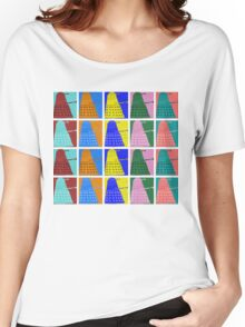 Pop art Daleks - variant 2 Women's Relaxed Fit T-Shirt