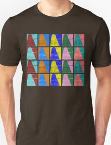 Pop art Daleks - variant 2 Unisex T-Shirt
