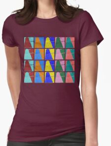 Pop art Daleks - variant 2 Womens Fitted T-Shirt