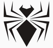 Black Iron Spider One Piece - Short Sleeve