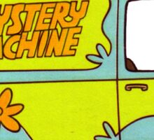 The Mystery Machine - design 3 Sticker
