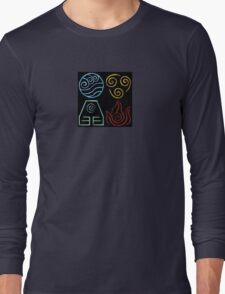 Avatar Four Elements Long Sleeve T-Shirt