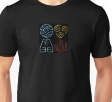 Avatar Four Elements Unisex T-Shirt