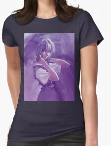 Neon Genesis Evangelion - Rei Ayanami Womens Fitted T-Shirt