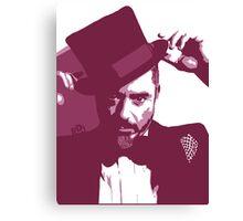 Mr. Robert Downey Jr. Canvas Print
