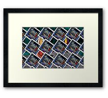 Donuts Pattern 26 Framed Print