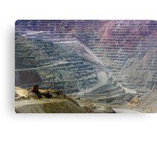 Santa Rita Mine ~ Grant Co., NM Metal Print