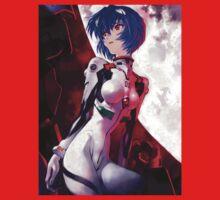 Neon Genesis Evangelion - Rei Ayanami One Piece - Short Sleeve