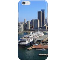 Cruiser Ship in Sydney iPhone Case/Skin