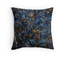 Topography II Throw Pillow