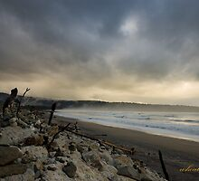 Convergence in Bruce Bay by whoalse
